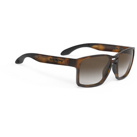 Rudy Project Spinair 57 Lunettes de soleil, demi gloss/brown deg